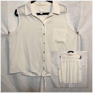 Chico's sleeveless top size 3